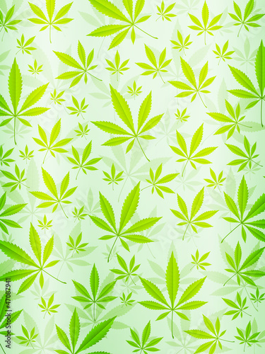 abstract marijuana background vertical