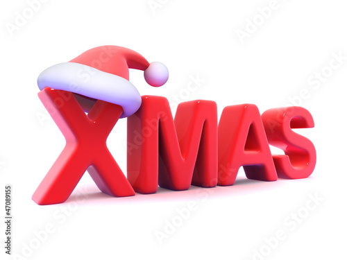 Xmas with Santa Claus hat