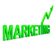 Green Marketing Word Means Promotion Sales And Advertising