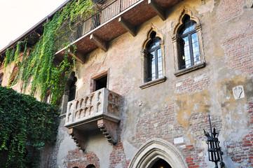 Balkon von Romeo und Julia in Verona, Italien