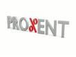 PRO%ENT_das %zeichen dreht sich - 3D Video