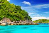 Idyllic beach of Similan islands, Thailand