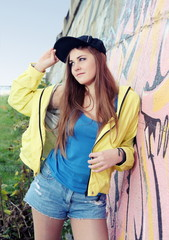 Urban Teenager Girl Young Adult Woman