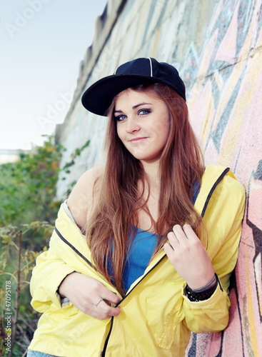 Teenager Girl Young Adult Smiling Woman