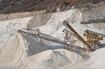 estrazione carbonato di calcio