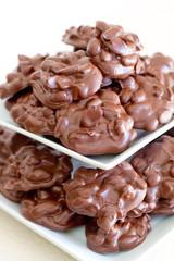 nut clusters - vertical - zoom