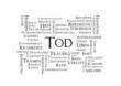 Tagcloud Tod Stichwortwolke Wort Wörter