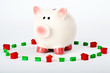 Piggy Bank Saving for a Home