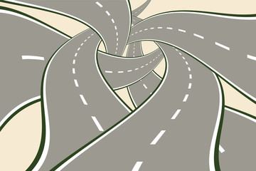 Crossing Tangled Roads