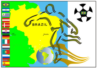 Fußball in Südamerika - Brasilien