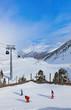 Mountain ski resort Obergurgl Austria