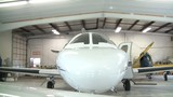 Front of Jet Airplane