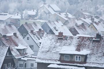 Zima w miasteczku