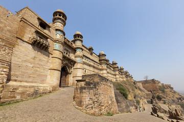 Gwalior fort in Madhya Pradesh,