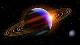 Fototapety Saturn In Space