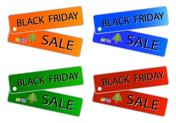 Black Friday Sale on Muti Colors Labels