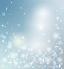 Magic Christmas, blue background