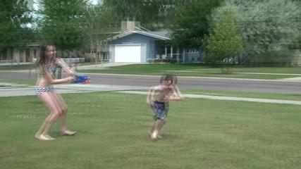 Kids Having Summertime Fun