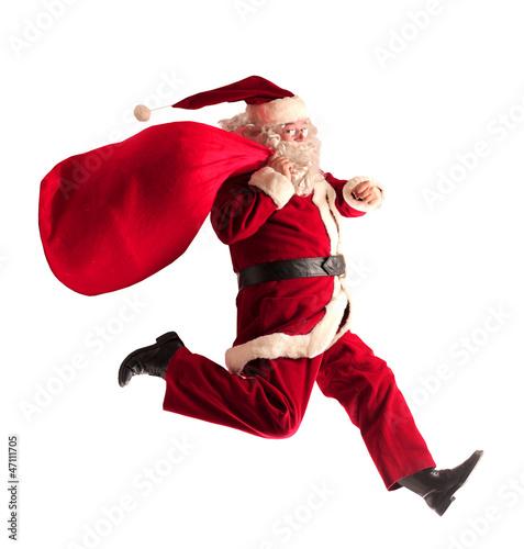 Leinwanddruck Bild Santa Claus