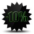 "Icône soldes  "" - 10% """
