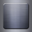 Brushed steel metal plate