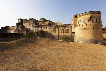 Mahansar fort in the shekhawati region, Rajasthan