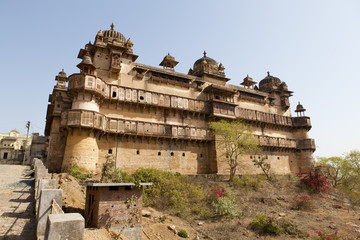 Jehangir Mahal at Orchha, Madhya Pradesh,