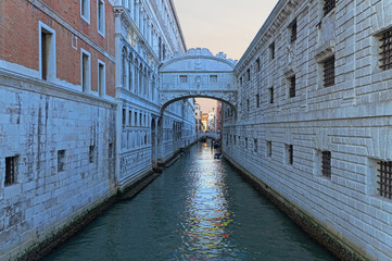 Bridges in Venice, Italy