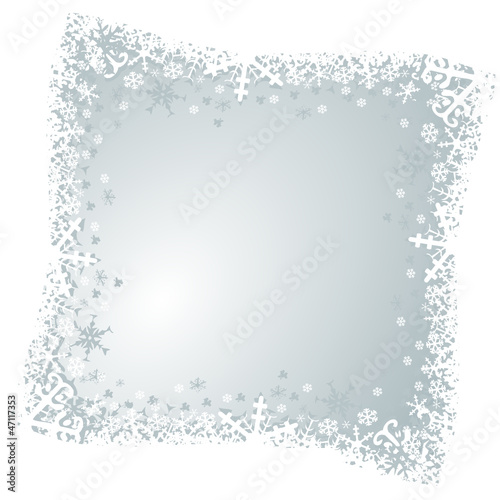 christmas vector background with svowflakes