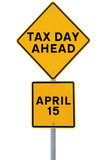 Tax Day Ahead