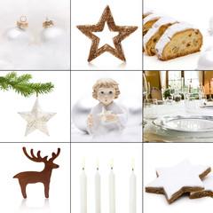 Weiße Weihnachtsmotive