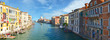 Panorama of grand canal, Venice