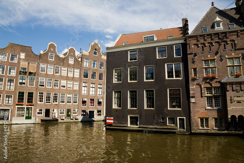 Traditional houses, Amsterdam
