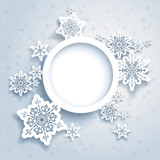 Fototapety Abstract winter design