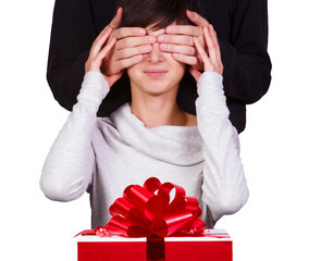 Surprise for beloved woman