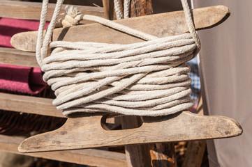 Seil gewickelt