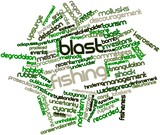 Word cloud for Blast fishing