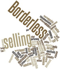 Word cloud for Borderless selling