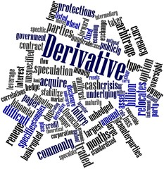 Word cloud for Derivative