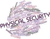 Word cloud for Physical security