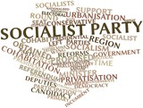 Word cloud for Socialist Party