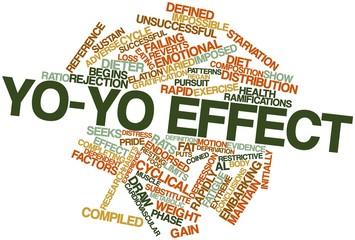 Word cloud for Yo-yo effect
