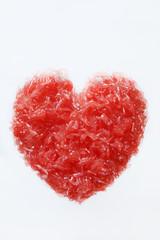 Serce z grejpfruta