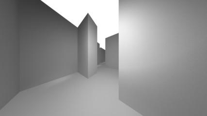 3D maze  flashlight