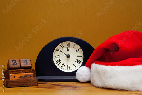 Close to midnight on Christmas Eve