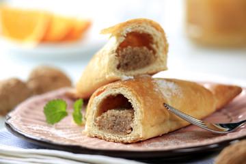 Sweet nut rolls