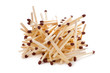 a pile of match sticks