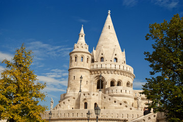 Fisherman Bastion in Budapest (Hungary)