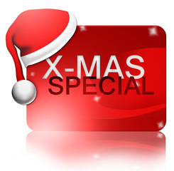 X-Mas Special, Button/ Icon