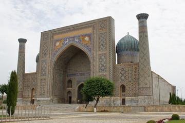 Medrese Sherdor, Registon Platz, Samarkand, Usbekistan